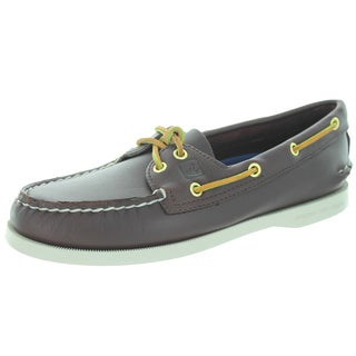 Sperry Top-Sider Women's Authentic Original 2-Eye Brown Boat Shoe
