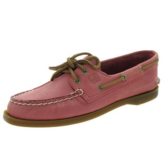 Sperry Top-Sider Women's Authentic Original 2-Eye Washed Red Boat Shoe