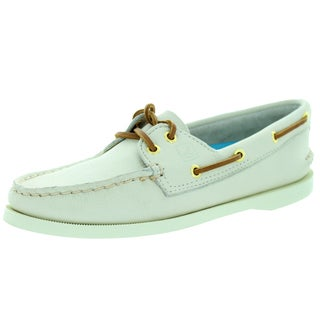 Sperry Top-Sider Women's Authentic Original 2-Eye Ivory Boat Shoe