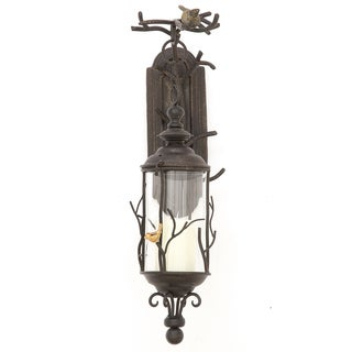 Urban Designs Morning Sounds Metal Hanging Wall Sconce
