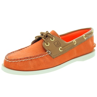 Sperry Top-Sider Women's Authentic Original Orange Sparkle Boat Shoe