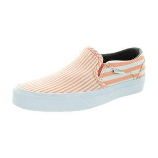 Vans Women's Asher (Faded Flag) Peachnctr/White Skate Shoe