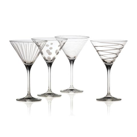 Mikasa 'Cheers' 10 oz. Martini Glasses (Set of 4)