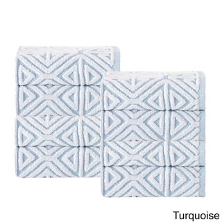 Glamour Turksh Cotton Wash Cloth (Set of 8)