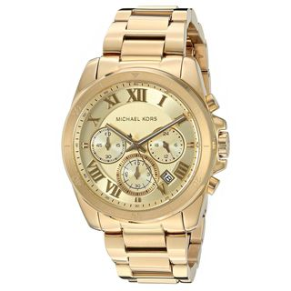 Michael Kors Women's MK6366 'Brecken' Chronograph Gold-Tone Stainless Steel Watch