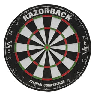 Viper Razorback Sisal Dartboard - Black https://ak1.ostkcdn.com/images/products/12330047/P19161761.jpg?impolicy=medium