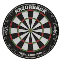 Viper Razorback Sisal Dartboard - Black