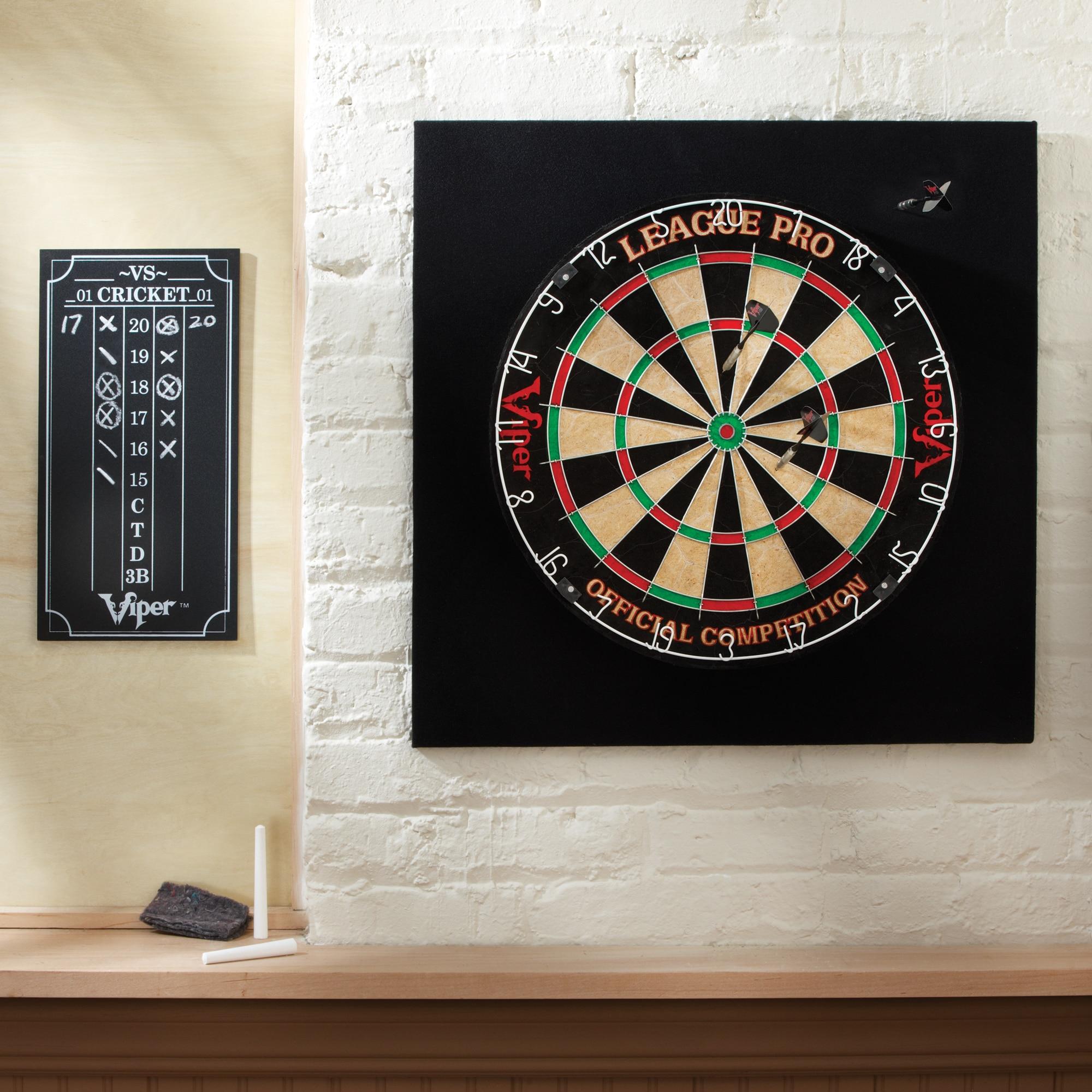 Viper League Pro Bristle Dart Board Complete Set - 42-6011