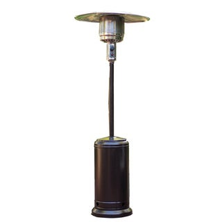 SUNHEAT Classic Umbrella Design Mocha Finish Portable Propane Patio Heater