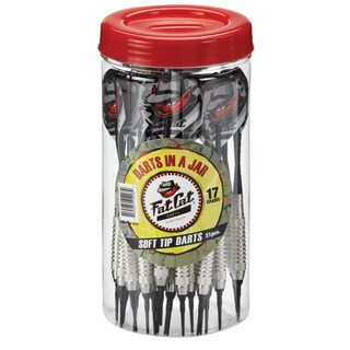 Fat Cat Soft-tip 17-gram Darts in a Jar - Off-white