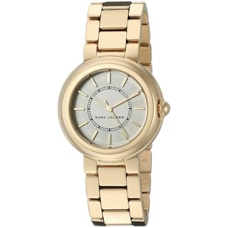 Marc Jacobs Women's MJ3465 'Courtney' Gold-Tone Stainless Steel Watch|https://ak1.ostkcdn.com/images/products/12330090/P19161778.jpg?_ostk_perf_=percv&impolicy=medium