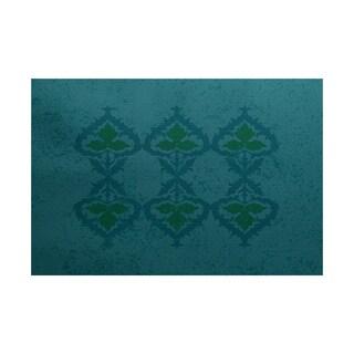 2 x 3-Feet, Ananda, Geometric Print Indoor/Outdoor Rug