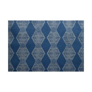 2 x 3-Feet, Pyramid Stripe, Geometric Print Indoor/Outdoor Rug