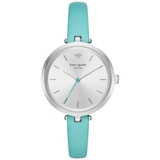 Kate Spade Women's KSW1118 'Holland' Blue Leather Watch