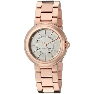 Marc Jacobs Women's MJ3466 'Courtney' Rose-Tone Stainless Steel Watch