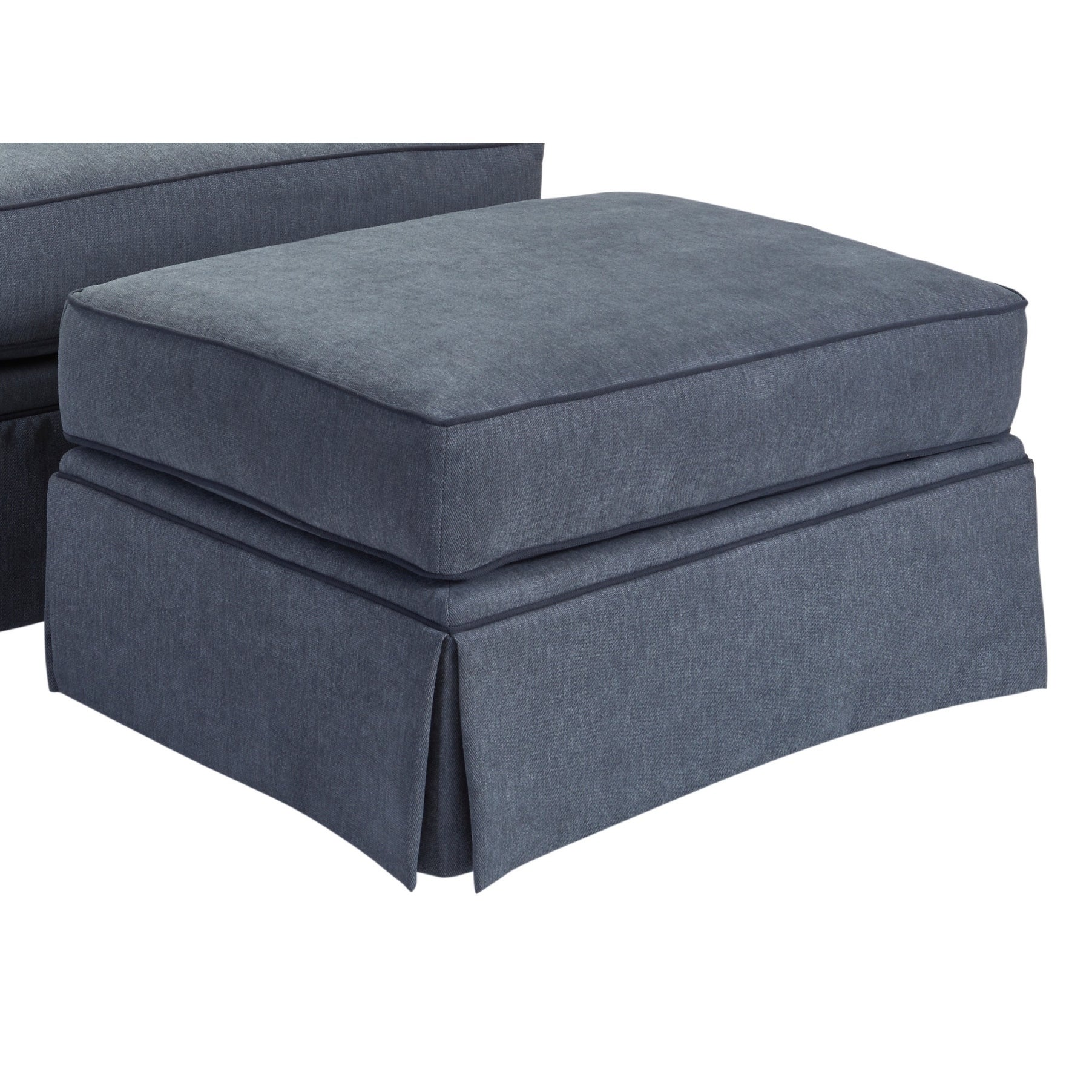Magnificent Broyhill Emily Ottoman In Blue Dailytribune Chair Design For Home Dailytribuneorg