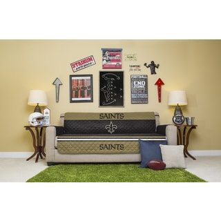 New Orleans Saints Licensed NFLSofa Protector
