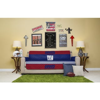 New York Giants Licensed NFLSofa Protector