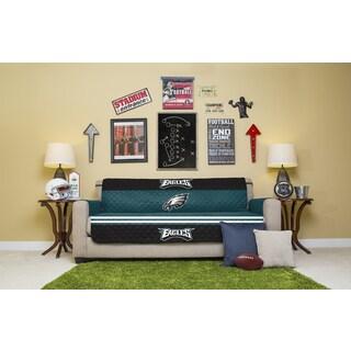 Licensed NFL Philadelphia Eagles Microfiber Sofa Protector