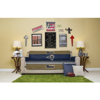 Licensed NFLLos Angeles Rams Sofa Protector