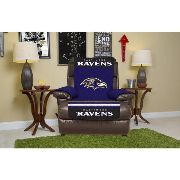 Exceptionnel Baltimore Ravens Licensed NFLRecliner Protector