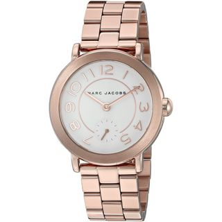 Marc Jacobs Women's MJ3471 'Riley' Rose-Tone Stainless Steel Watch
