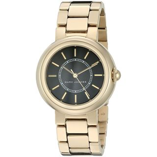 Marc Jacobs Women's MJ3468 'Courtney' Gold-Tone Stainless Steel Watch