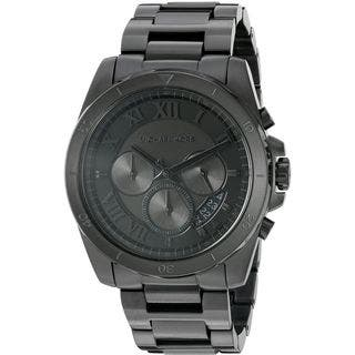 Michael Kors Men's MK8482 'Brecken' Chronograph Stainless Steel Watch|https://ak1.ostkcdn.com/images/products/12330327/P19161997.jpg?impolicy=medium