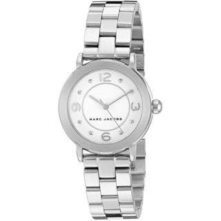 Marc Jacobs Women's MJ3472 'Riley' Stainless Steel Watch https://ak1.ostkcdn.com/images/products/12330328/P19161982.jpg?impolicy=medium