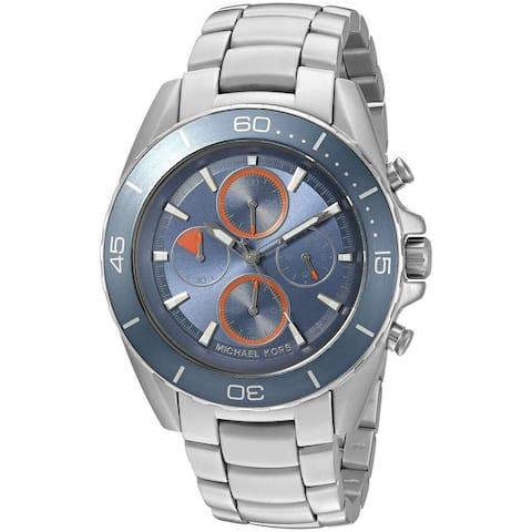 Michael Kors Men's MK8484 'Jetmaster' Chronograph Stainless Steel Watch