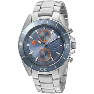 Michael Kors Men's MK8484 'Jetmaster' Chronograph Stainless Steel Watch