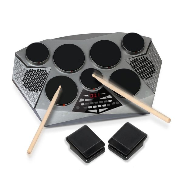 Pyle PTED06 Electronic Tabletop Drum Machine
