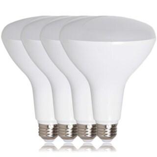 Dimmable BR40 LED 12-watt Warm White 1100 Lumens Light Bulbs (Pack of 4)