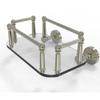 Allied Brass Waverly Place Collection Wall-mounted Glass Guest Towel Tray