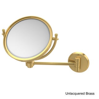 Allied Brass Wall-mounted 8-inch Makeup Mirror with 3X Magnification