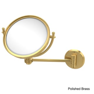Link to Allied Brass 8-inch Wall-mounted Makeup Mirror with 2X Magnification Similar Items in Mirrors