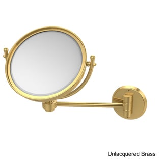 Allied Brass 8-inch 5x Magnification Wall Mounted Makeup Mirror