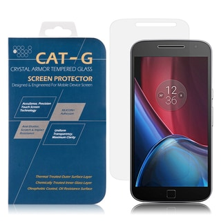 Motorola G4 PLUS Tempered Glass Screen Protector with 0.33-millimeter Arcing