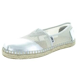 Toms Women's Classic Silver Casual Shoe