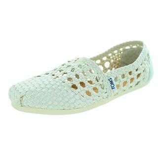 Toms Women's Classic Whisper Satin Casual Shoe