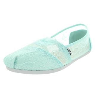 Toms Women's Classic Mint Casual Shoe