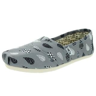 Toms Women's Classic Grey Casual Shoe