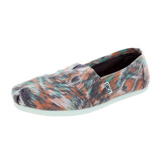 Toms Women's Classic Watercolor Multi Casual Shoe