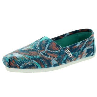 Toms Women's Classic Turquoise Multi Casual Shoe
