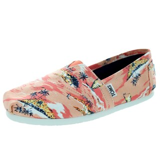 Toms Women's Classic Coral Casual Shoe