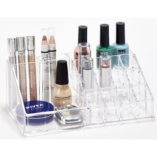 Simplify Crystal Clear 16-section Acrylic Organizer