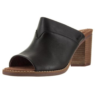 Toms Women's Majorca Mule Black Casual Shoe