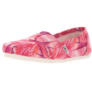 Toms Women's Classic Pink/Birds Of Paradise Casual Shoe