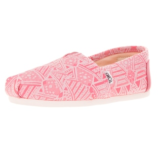Toms Women's Classic Pink Neon Casual Shoe