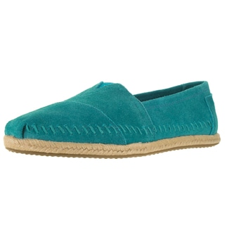 Toms Women's Classic Turquoise Casual Shoe